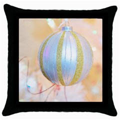 Sphere Tree White Gold Silver Throw Pillow Case (black) by BangZart