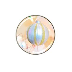 Sphere Tree White Gold Silver Hat Clip Ball Marker (10 Pack) by BangZart