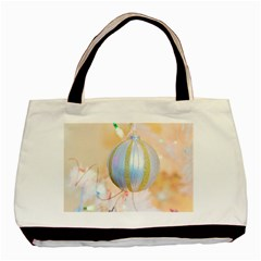 Sphere Tree White Gold Silver Basic Tote Bag by BangZart