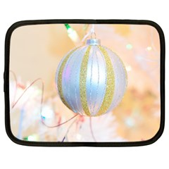 Sphere Tree White Gold Silver Netbook Case (large) by BangZart