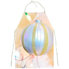 Sphere Tree White Gold Silver Full Print Aprons by BangZart