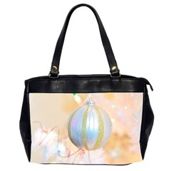 Sphere Tree White Gold Silver Office Handbags (2 Sides)