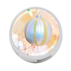 Sphere Tree White Gold Silver 4 Port Usb Hub (two Sides)  by BangZart