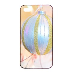 Sphere Tree White Gold Silver Apple Iphone 4/4s Seamless Case (black) by BangZart