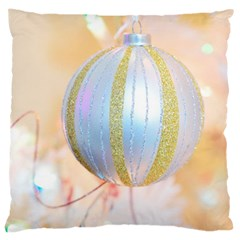 Sphere Tree White Gold Silver Large Cushion Case (two Sides) by BangZart