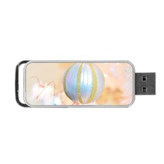 Sphere Tree White Gold Silver Portable Usb Flash (two Sides) by BangZart