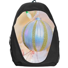 Sphere Tree White Gold Silver Backpack Bag by BangZart