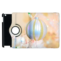 Sphere Tree White Gold Silver Apple Ipad 3/4 Flip 360 Case by BangZart