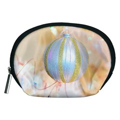 Sphere Tree White Gold Silver Accessory Pouches (medium)  by BangZart