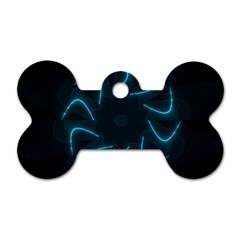 Background Abstract Decorative Dog Tag Bone (one Side) by BangZart