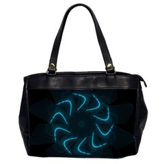 Background Abstract Decorative Office Handbags (2 Sides)  by BangZart