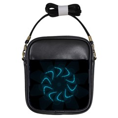 Background Abstract Decorative Girls Sling Bags by BangZart