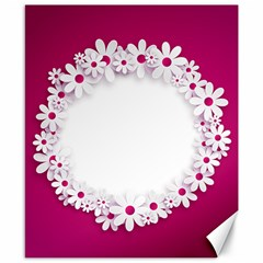 Photo Frame Transparent Background Canvas 8  X 10  by BangZart