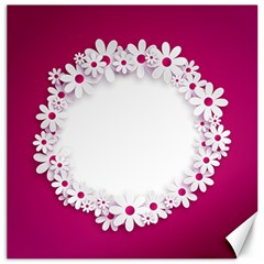 Photo Frame Transparent Background Canvas 16  X 16   by BangZart