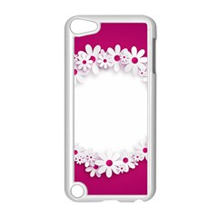 Photo Frame Transparent Background Apple Ipod Touch 5 Case (white) by BangZart