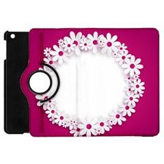 Photo Frame Transparent Background Apple Ipad Mini Flip 360 Case by BangZart