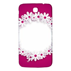Photo Frame Transparent Background Samsung Galaxy Mega I9200 Hardshell Back Case