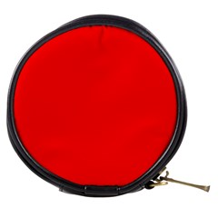 Solid Christmas Red Velvet Mini Makeup Bags