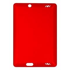 Solid Christmas Red Velvet Amazon Kindle Fire Hd (2013) Hardshell Case by PodArtist