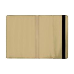 Solid Christmas Gold Apple Ipad Mini Flip Case by PodArtist