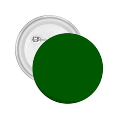 Solid Christmas Green Velvet Classic Colors 2 25  Buttons