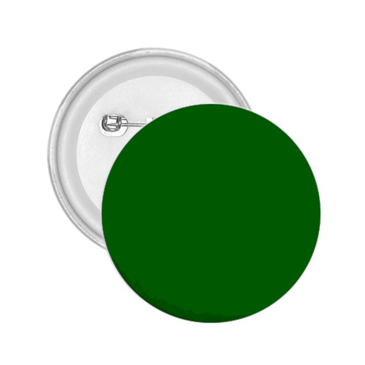 Solid Christmas Green Velvet Classic Colors 2.25  Buttons