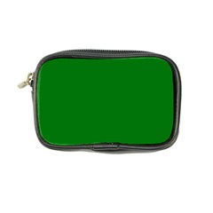 Solid Christmas Green Velvet Classic Colors Coin Purse by PodArtist