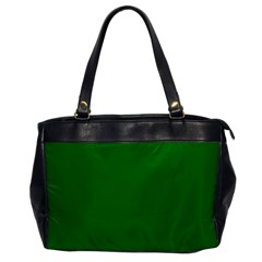 Solid Christmas Green Velvet Classic Colors Office Handbags by PodArtist