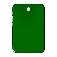 Solid Christmas Green Velvet Classic Colors Samsung Galaxy Note 8 0 N5100 Hardshell Case  by PodArtist