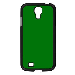 Solid Christmas Green Velvet Classic Colors Samsung Galaxy S4 I9500/ I9505 Case (black) by PodArtist
