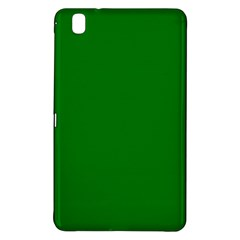 Solid Christmas Green Velvet Classic Colors Samsung Galaxy Tab Pro 8 4 Hardshell Case by PodArtist