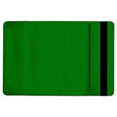 Solid Christmas Green Velvet Classic Colors Ipad Air 2 Flip by PodArtist