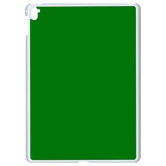 Solid Christmas Green Velvet Classic Colors Apple Ipad Pro 9 7   White Seamless Case by PodArtist