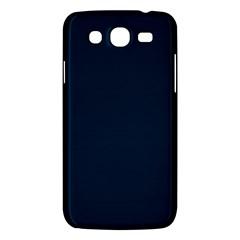 Solid Christmas Silent Night Blue Samsung Galaxy Mega 5 8 I9152 Hardshell Case  by PodArtist