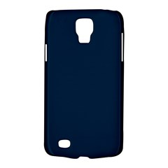 Solid Christmas Silent Night Blue Galaxy S4 Active by PodArtist