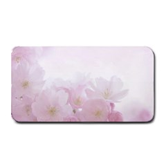 Pink Blossom Bloom Spring Romantic Medium Bar Mats by BangZart