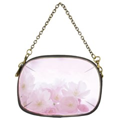 Pink Blossom Bloom Spring Romantic Chain Purses (two Sides)  by BangZart