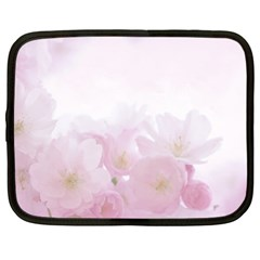 Pink Blossom Bloom Spring Romantic Netbook Case (xxl)