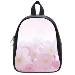 Pink Blossom Bloom Spring Romantic School Bags (small)  by BangZart