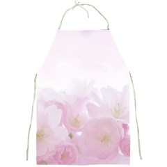 Pink Blossom Bloom Spring Romantic Full Print Aprons by BangZart