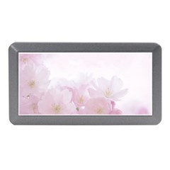 Pink Blossom Bloom Spring Romantic Memory Card Reader (mini)