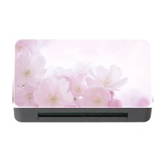 Pink Blossom Bloom Spring Romantic Memory Card Reader With Cf