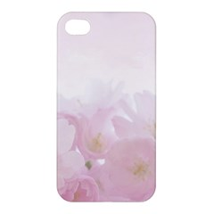 Pink Blossom Bloom Spring Romantic Apple Iphone 4/4s Hardshell Case by BangZart