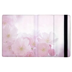 Pink Blossom Bloom Spring Romantic Apple Ipad 3/4 Flip Case