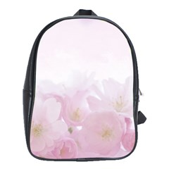 Pink Blossom Bloom Spring Romantic School Bags (xl)  by BangZart