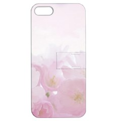 Pink Blossom Bloom Spring Romantic Apple Iphone 5 Hardshell Case With Stand by BangZart
