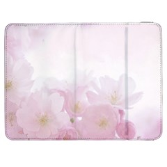 Pink Blossom Bloom Spring Romantic Samsung Galaxy Tab 7  P1000 Flip Case