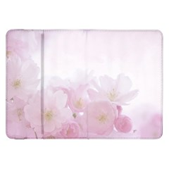 Pink Blossom Bloom Spring Romantic Samsung Galaxy Tab 8 9  P7300 Flip Case by BangZart