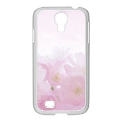 Pink Blossom Bloom Spring Romantic Samsung Galaxy S4 I9500/ I9505 Case (white) by BangZart