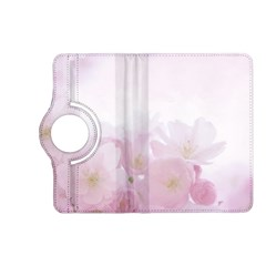 Pink Blossom Bloom Spring Romantic Kindle Fire Hd (2013) Flip 360 Case by BangZart